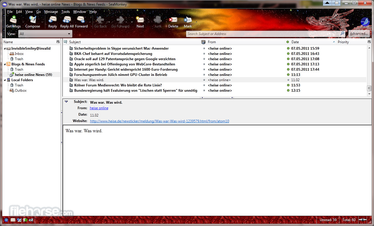 SeaMonkey 2.32.1 Screenshot 4