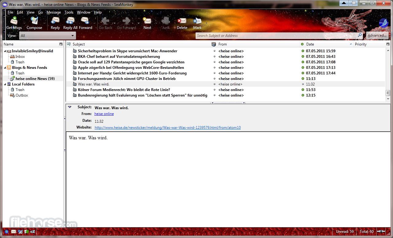 SeaMonkey 2.39 Screenshot 4