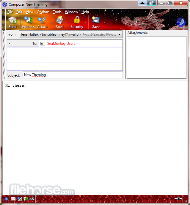 SeaMonkey 2.33 Screenshot 5