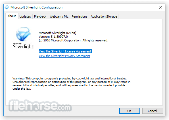 Silverlight 5.1.41105 (32-bit) Screenshot 1