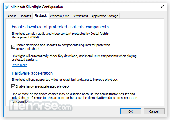 Silverlight 5.1.41105 (32-bit) Screenshot 3