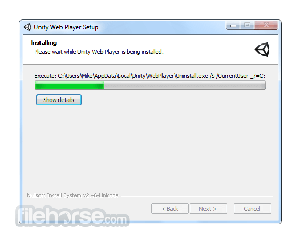 Unity Web Player 5.3.8 (32-bit) Screenshot 2