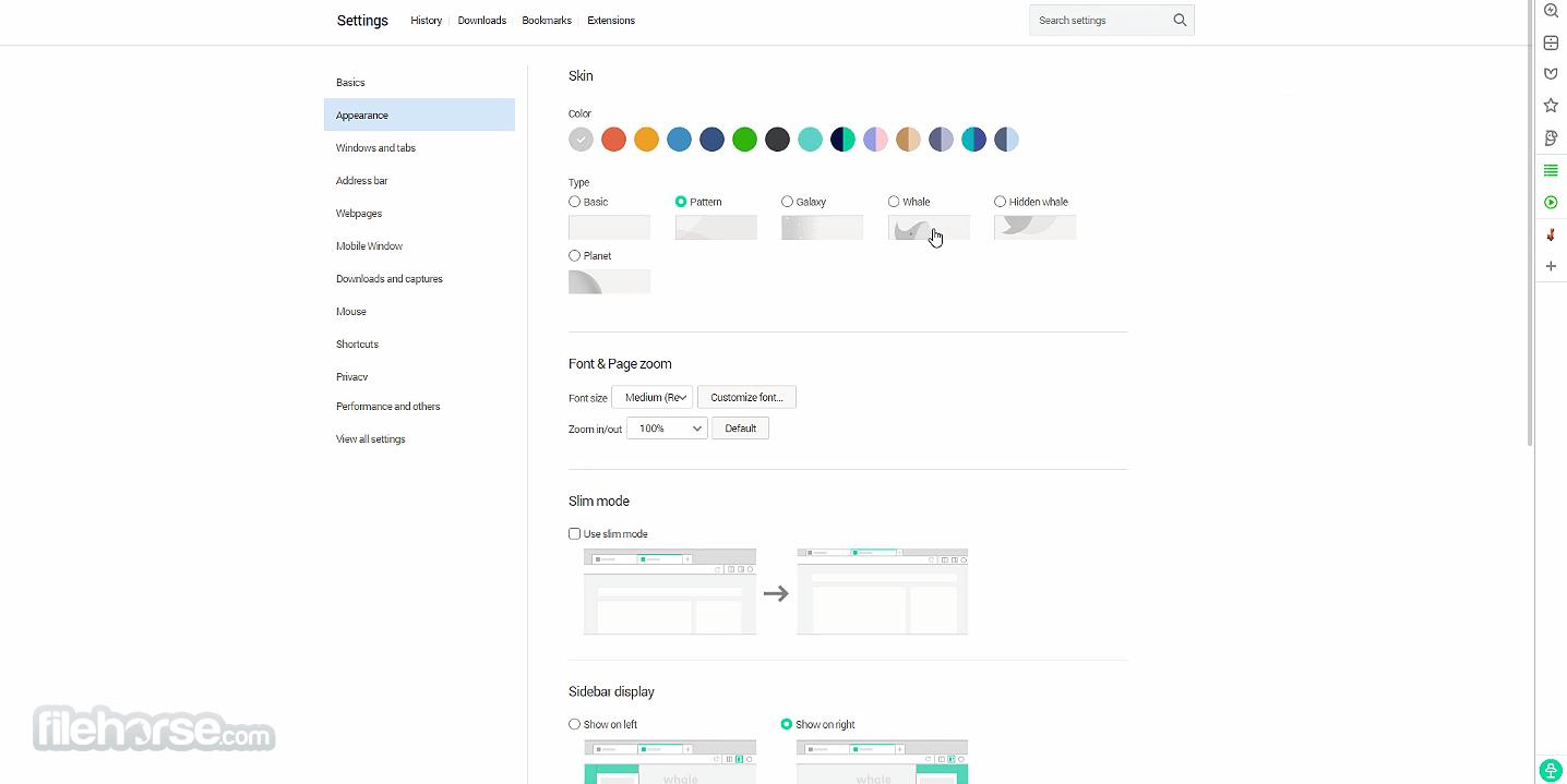 Whale Browser 2.8.107.16 Screenshot 3