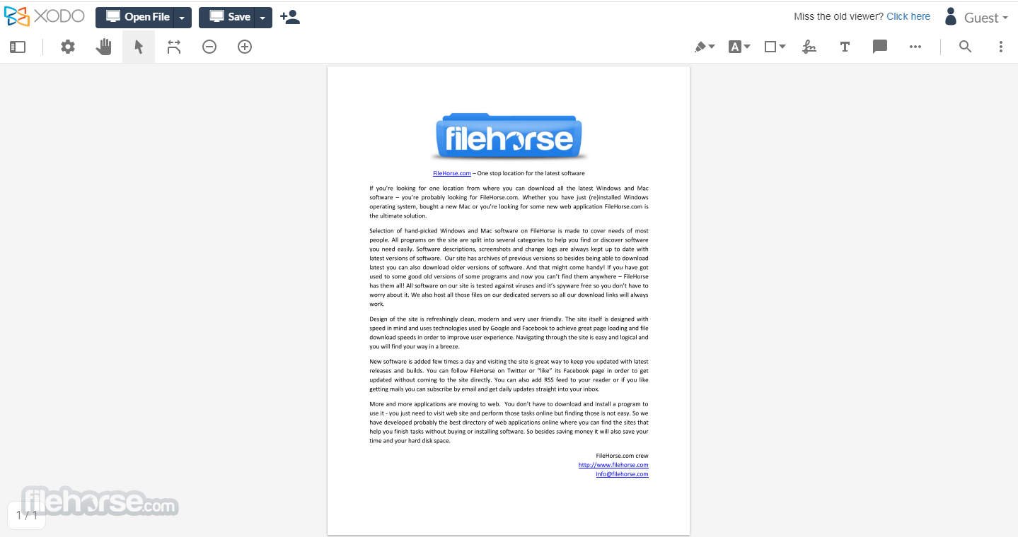 Xodo PDF Viewer & Editor Screenshot 2