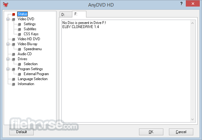 AnyDVD HD 8.2.1.0 Captura de Pantalla 1