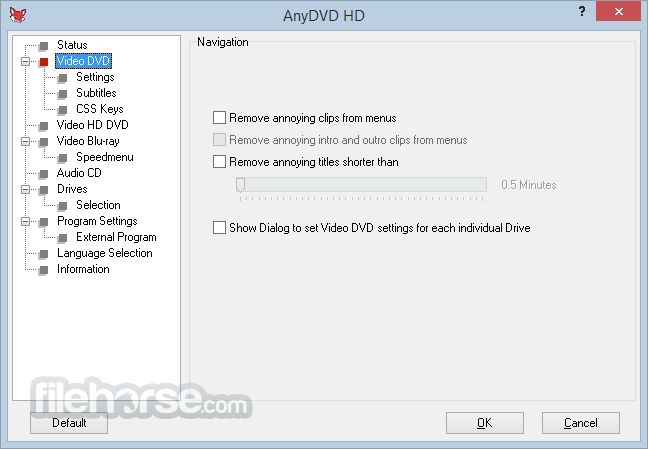 AnyDVD HD 8.2.1.0 Captura de Pantalla 2