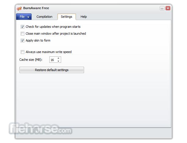 BurnAware Free 11.1 Screenshot 5