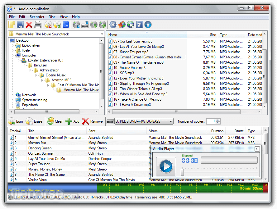 CDBurnerXP 4.5.8.7035 (64-bit) Screenshot 2