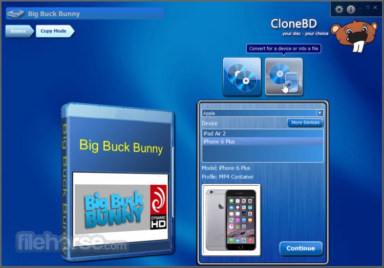 CloneBD 1.1.9.0 Captura de Pantalla 4