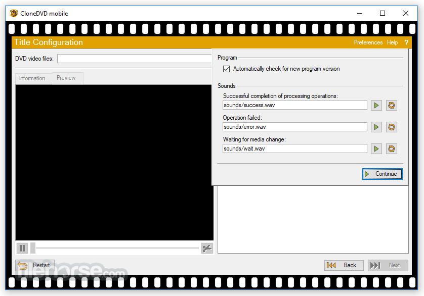 CloneDVD Mobile 1.9.5.0 Screenshot 4