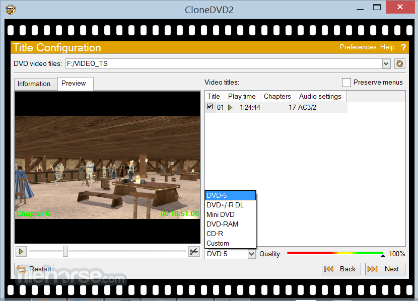 CloneDVD 2.9.3.3 Screenshot 2