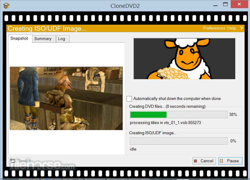 CloneDVD 2.9.3.3 Screenshot 5