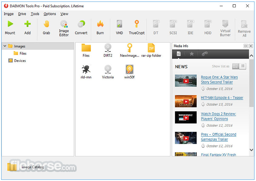 DAEMON  Tools Pro 8.3.0 Captura de Pantalla 3