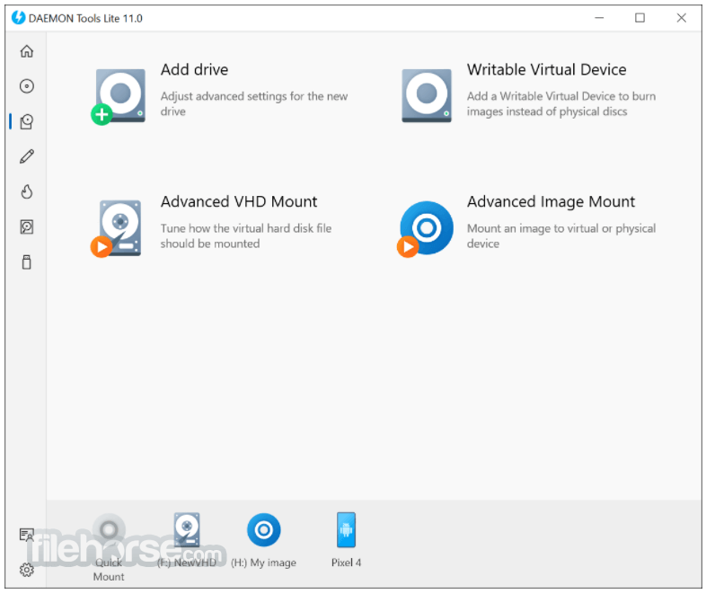 DAEMON Tools Lite 10.7 Screenshot 3