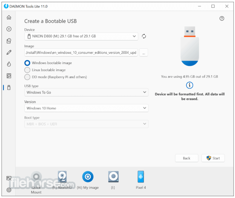 DAEMON Tools Lite 10.7 Screenshot 5