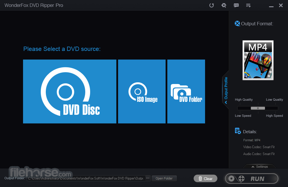 DVD Ripper Pro 11.1 Captura de Pantalla 1