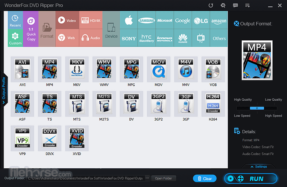 DVD Ripper Pro 11.1 Screenshot 2