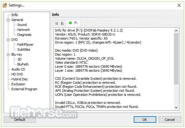 DVDFab Passkey Lite 9.4.1.3 Screenshot 2