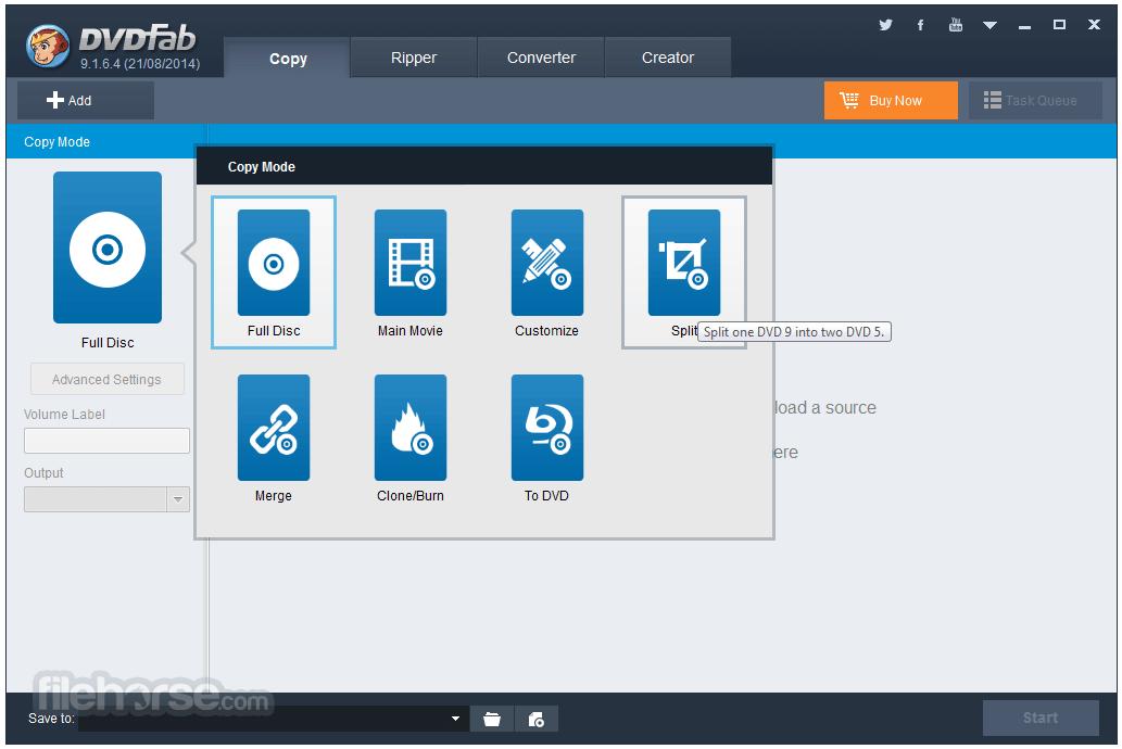 DVDFab 12.0.4.7 (64-bit) Screenshot 1