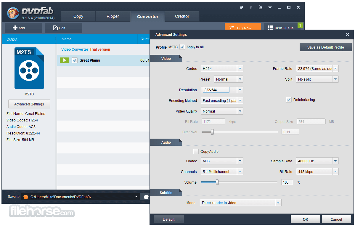 DVDFab 12.0.4.7 (64-bit) Screenshot 3