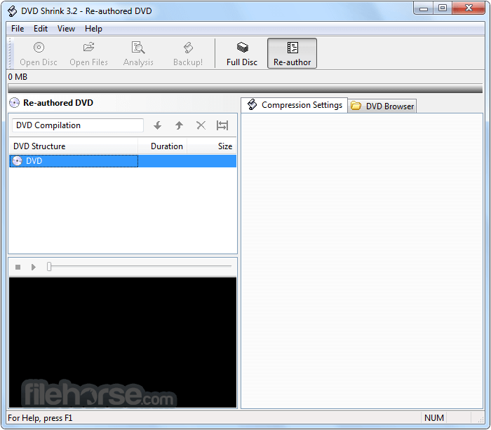DVD Shrink 3.2.0.15 Captura de Pantalla 1