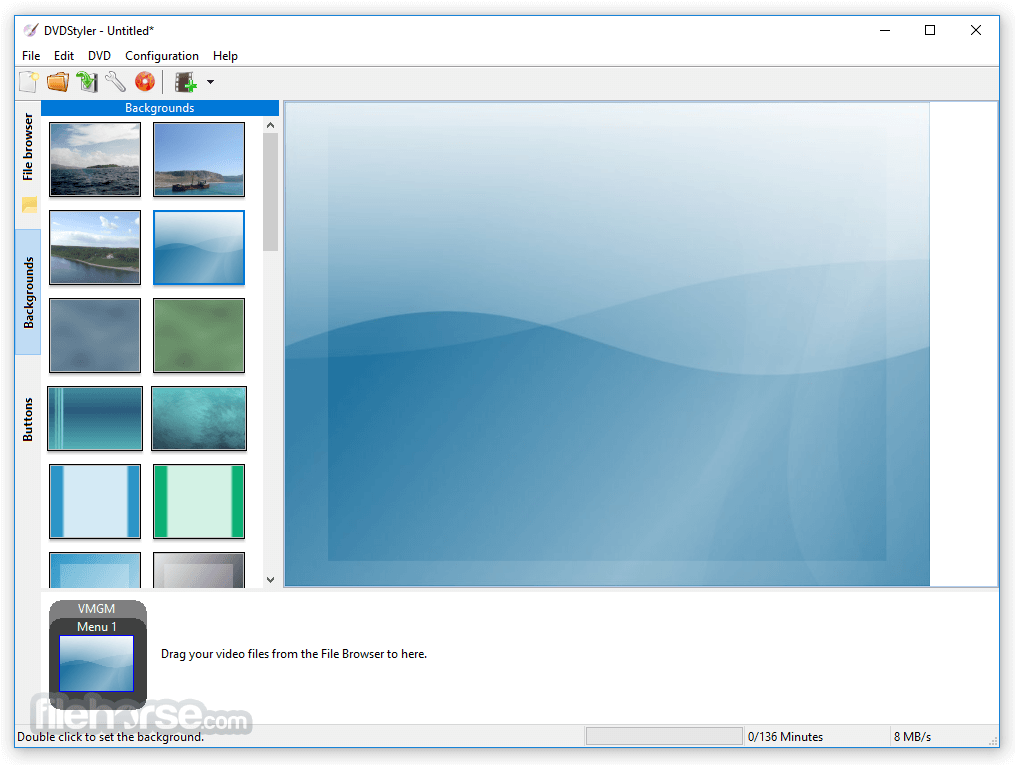DVDStyler 3.0.4 (32-bit) Screenshot 2
