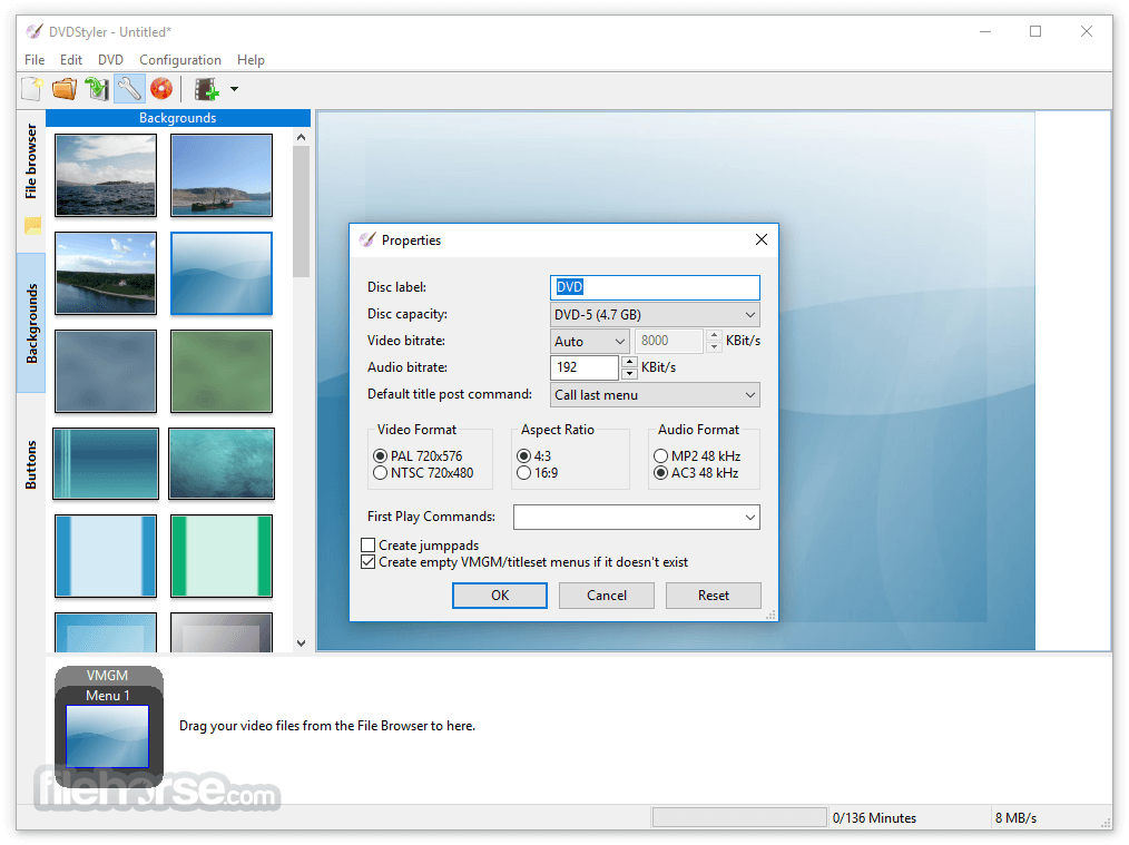 DVDStyler 3.0.4 (32-bit) Screenshot 5