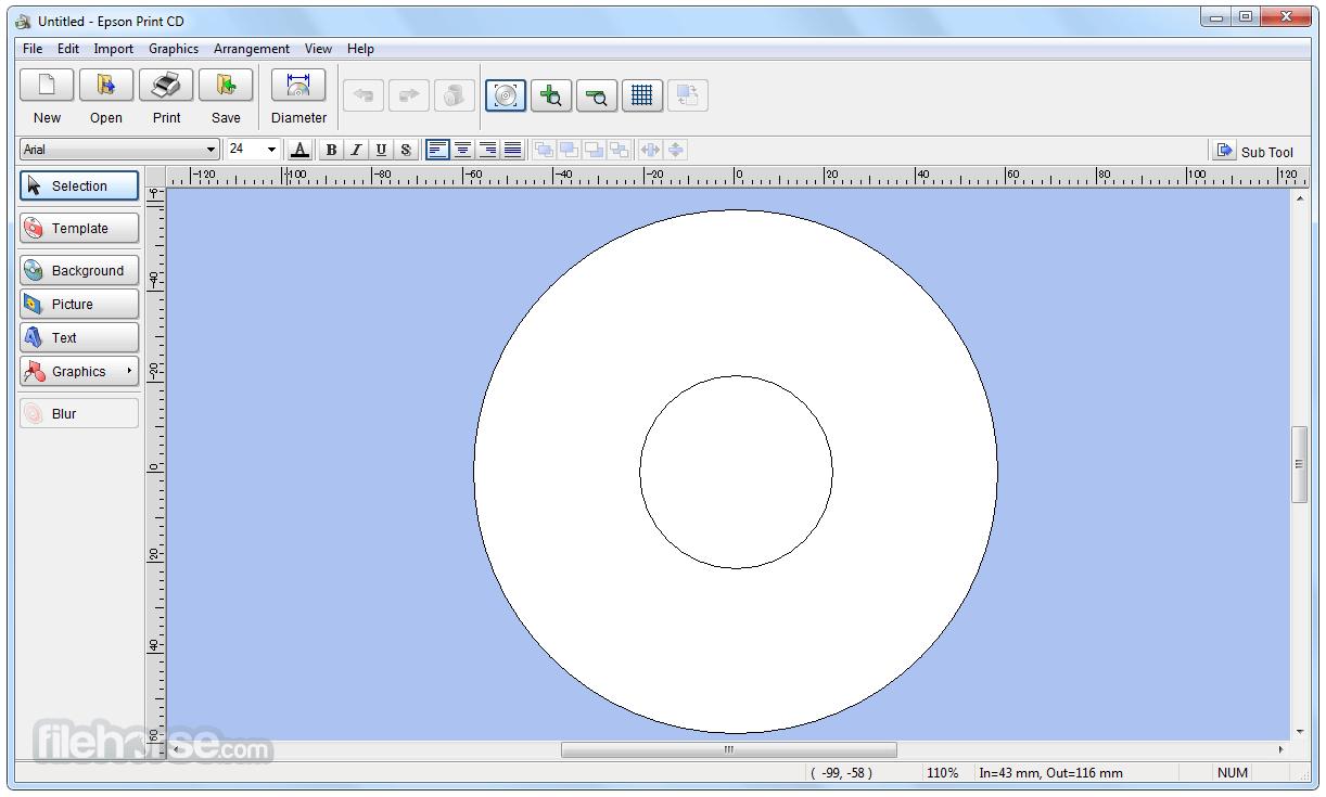 Epson Print CD 2.44 Screenshot 1