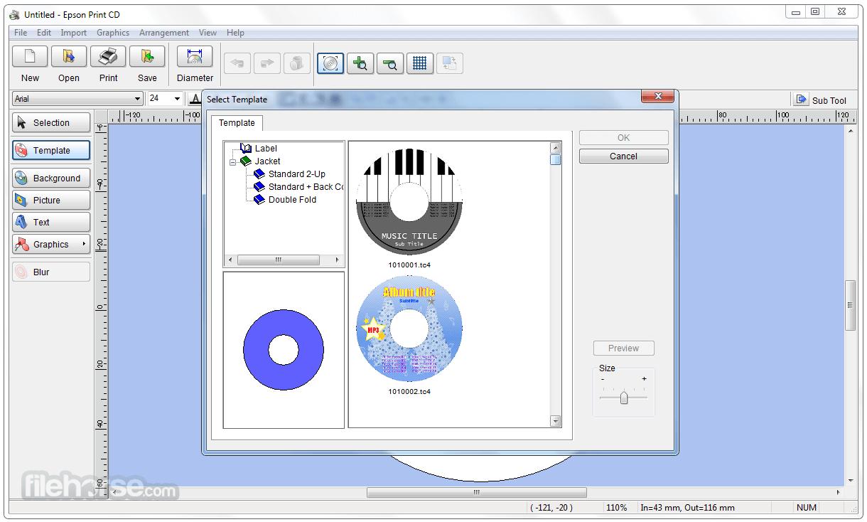Epson Print CD 2.44 Captura de Pantalla 2