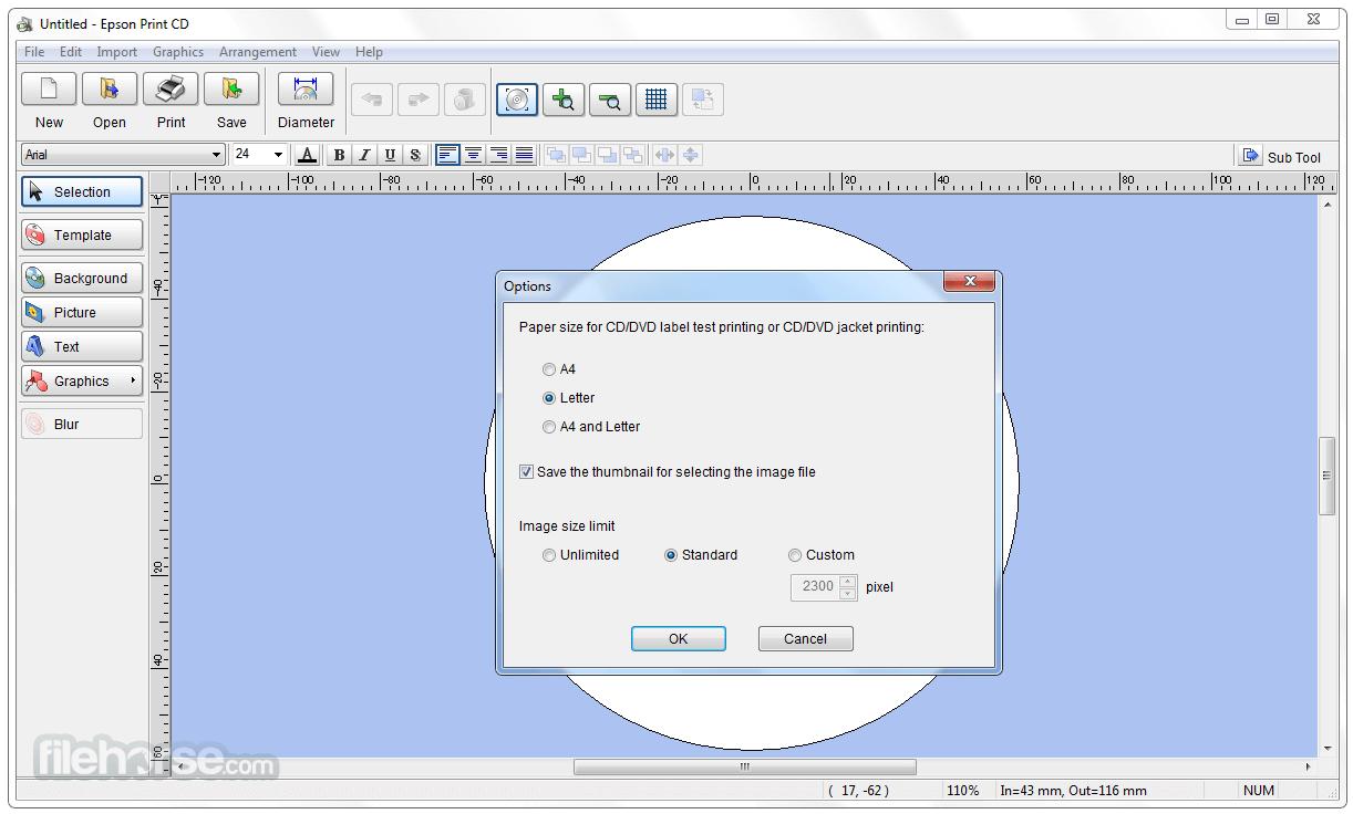 Epson Print CD 2.44 Screenshot 5