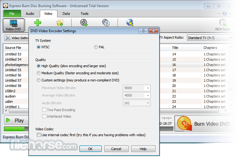 Express Burn 6.18 Screenshot 3