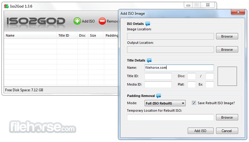 ISO2GoD 1.3.6 Screenshot 1