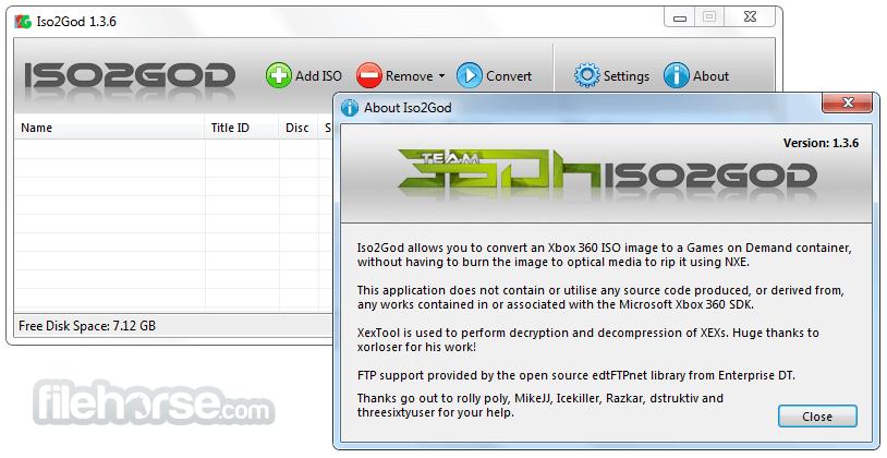 ISO2GoD 1.3.6 Screenshot 2