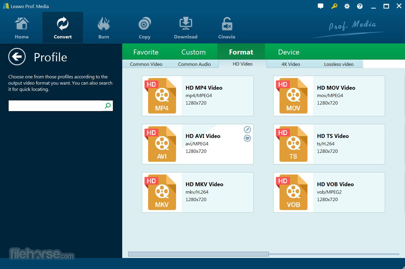 Leawo Blu-ray Ripper 8.3.0.0 Screenshot 2