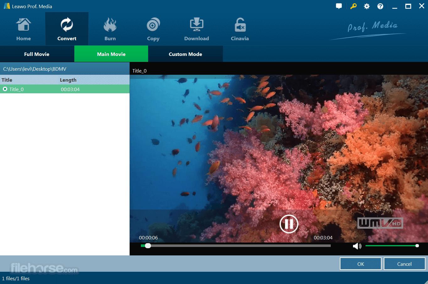 Leawo Blu-ray Ripper 8.3.0.0 Screenshot 3