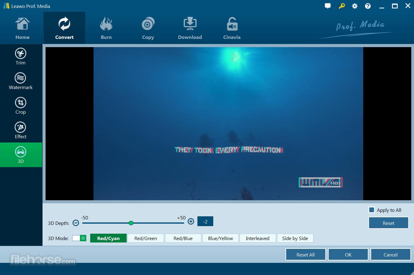 Leawo Blu-ray Ripper 8.3.0.0 Screenshot 5