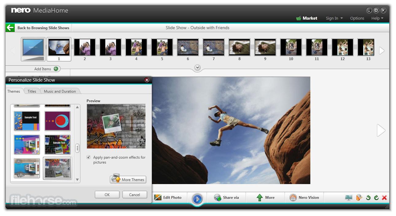 Nero MediaHome 17.0.00500 Screenshot 4