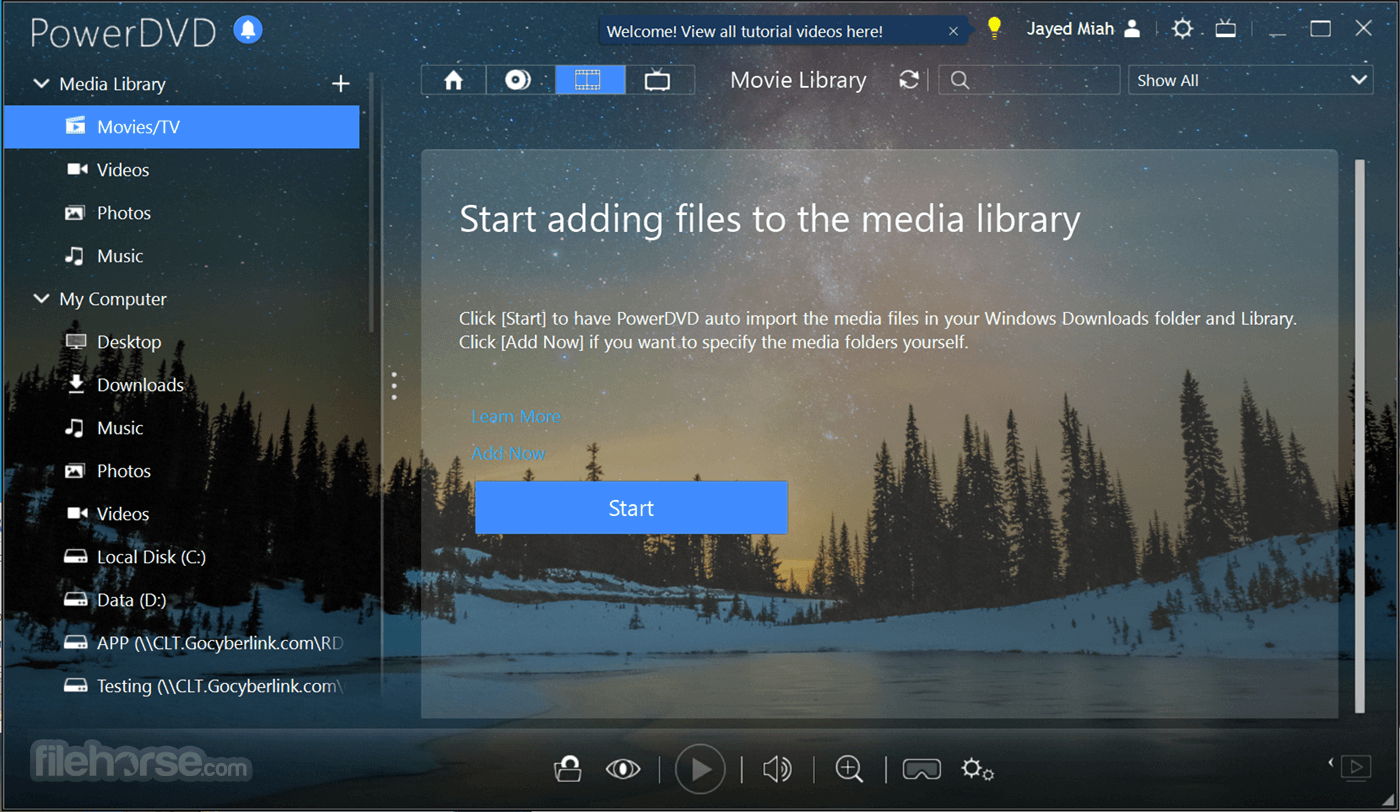 PowerDVD 20.0.1519.62 Screenshot 4