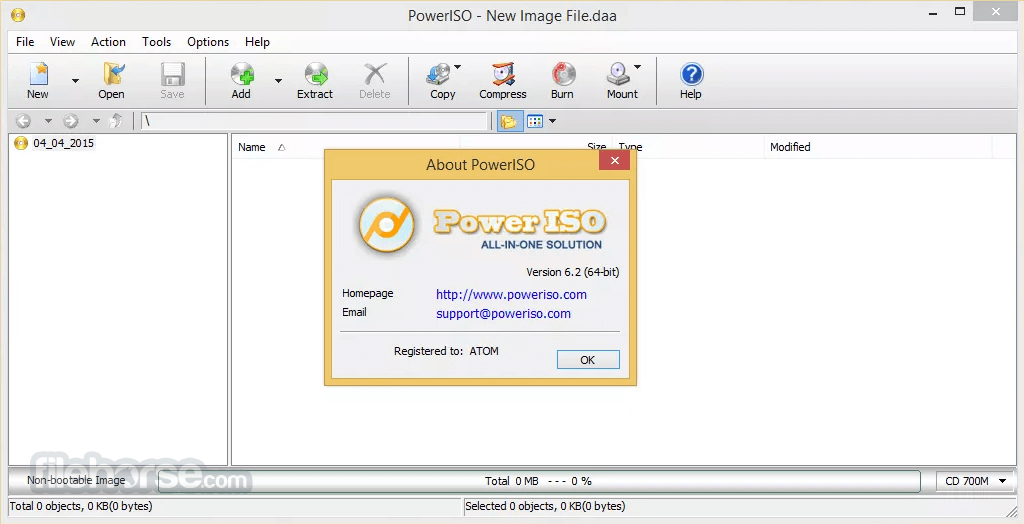 download poweriso old version