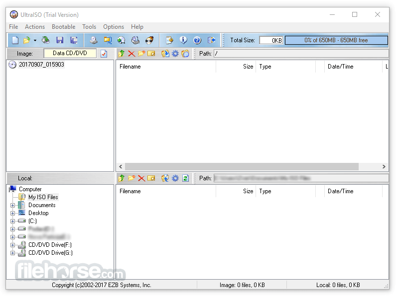 UltraISO PE 9.7.1.3519 Screenshot 1