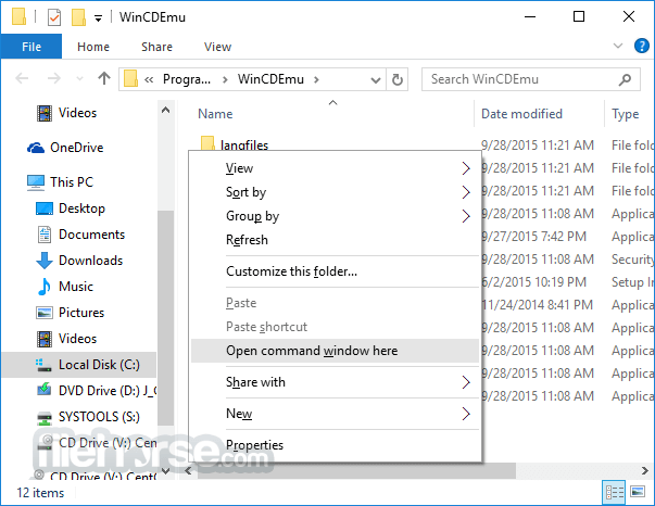 WinCDEmu 4.1 Screenshot 4