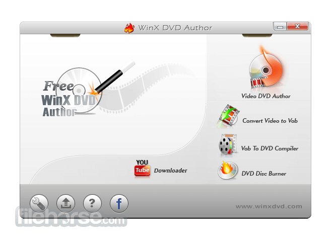 WinX DVD Author 6.3.9 Screenshot 1