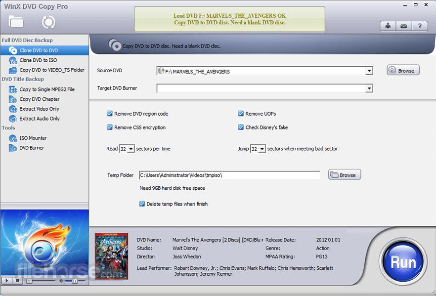 WinX DVD Copy Pro Download (2019 Latest) for Windows 10, 8, 7