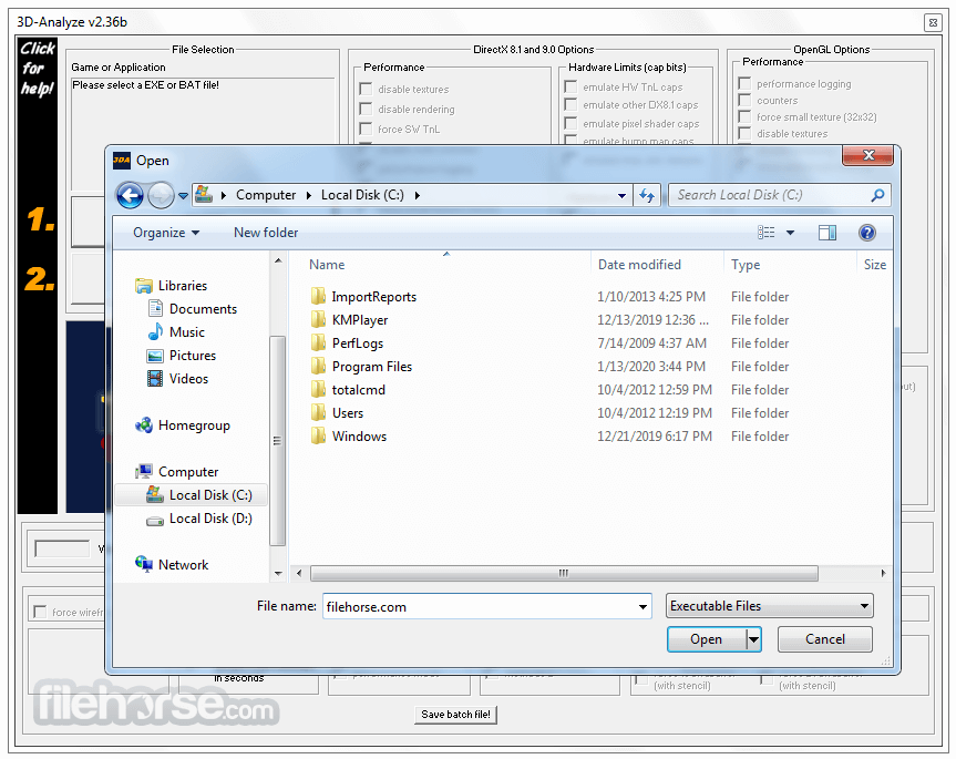 3D-Analyze 2.36b Screenshot 2