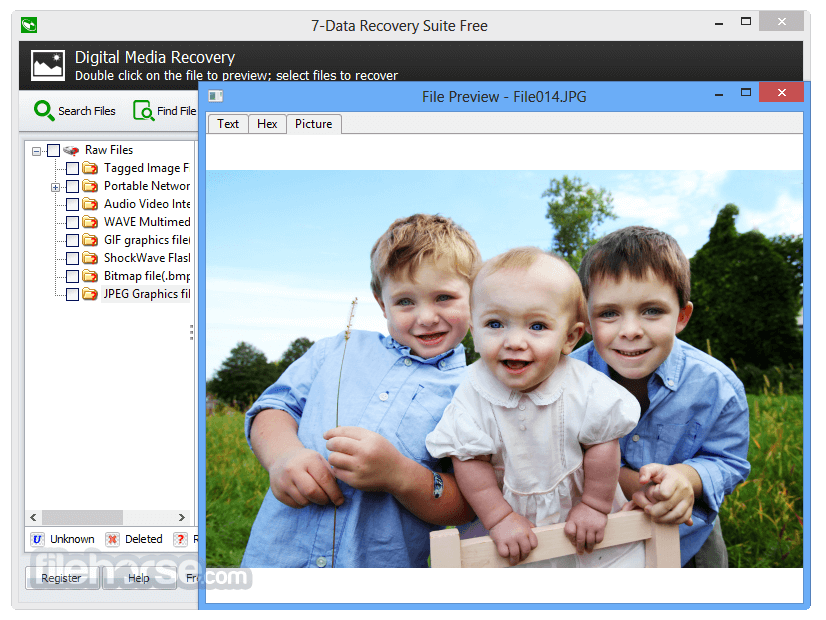 7-Data Recovery Suite 4.4 Screenshot 3