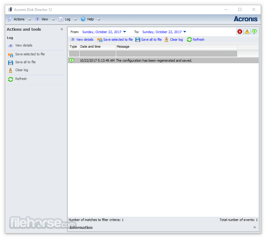 Acronis Disk Director 12 Build 12.5.163 Screenshot 2
