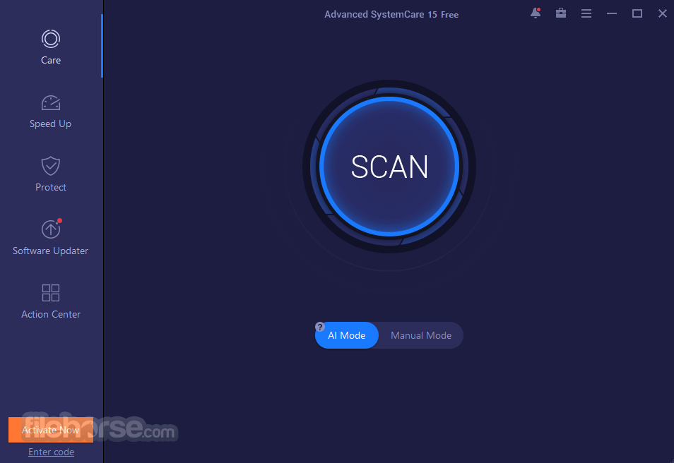 Advanced SystemCare Free 11.5.0.239 Captura de Pantalla 1