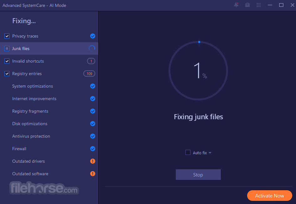 Advanced SystemCare Free 14.3.0.240 Screenshot 4