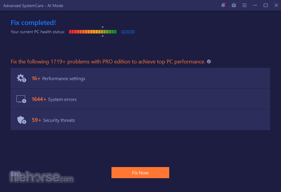 Advanced SystemCare Free 11.5.0.239 Captura de Pantalla 5