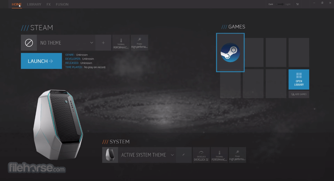 Download  Alienware Command Center for Windows free 2021